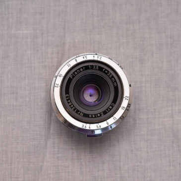 Carl Zeiss Planar 1:3.5 f=35mm Review